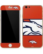 Denver Broncos Zone Block iPhone 6/6s Skin