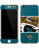 Jacksonville Jaguars Zone Block iPhone 6/6s Skin