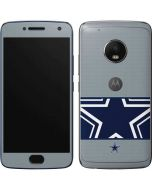 Dallas Cowboys Zone Block Moto G5 Plus Skin