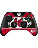 Kansas City Chiefs Zone Block Xbox One Controller Skin