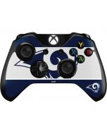 Los Angeles Rams Zone Block Xbox One Controller Skin
