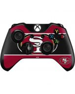 San Francisco 49ers Zone Block Xbox One Controller Skin