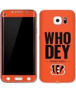 Cincinnati Bengals Team Motto Galaxy S6 Edge Skin