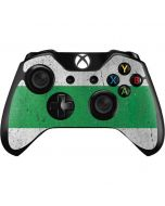Nigeria Flag Distressed Xbox One Controller Skin