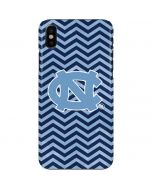 North Carolina Chevron Print iPhone X Lite Case