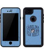North Carolina Tar Heels 1789 iPhone 7 Waterproof Case