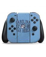 North Carolina Tar Heels 1789 Nintendo Switch Joy Con Controller Skin