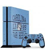North Carolina Tar Heels 1789 PS4 Console and Controller Bundle Skin