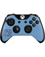 North Carolina Tar Heels 1789 Xbox One Controller Skin