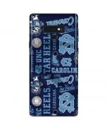 North Carolina Tar Heels Print Galaxy Note 9 Skin