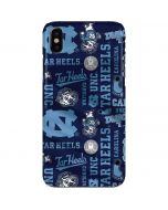 North Carolina Tar Heels Print iPhone X Lite Case