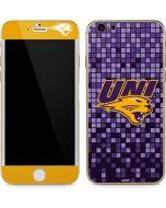 Northern Iowa Checkered iPhone 6/6s Skin