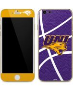 Northern Iowa Panthers Leather iPhone 6/6s Skin