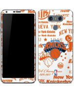 NY Knicks Historic Blast LG G6 Skin