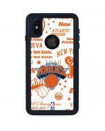 NY Knicks Historic Blast iPhone XS Waterproof Case