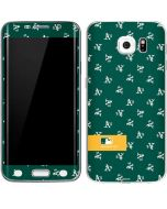 Oakland Athletics Full Count Galaxy S6 Edge Skin