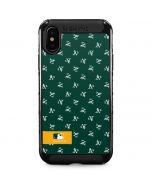 Oakland Athletics Full Count iPhone XS Max Cargo Case