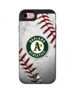 Oakland Athletics Game Ball iPhone 7 Wallet Case