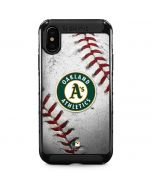 Oakland Athletics Game Ball iPhone XS Max Cargo Case