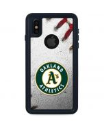 Oakland Athletics Game Ball iPhone XS Waterproof Case