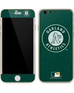 Oakland Athletics Monotone iPhone 6/6s Skin