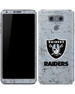 Oakland Raiders - Alternate Distressed LG G6 Skin