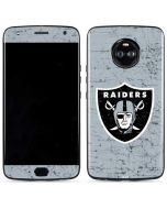 Oakland Raiders - Alternate Distressed Moto X4 Skin