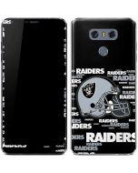 Oakland Raiders - Blast Alternate LG G6 Skin