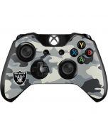 Oakland Raiders Camo Xbox One Controller Skin