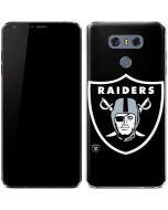 Oakland Raiders Large Logo LG G6 Skin