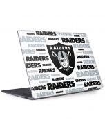Oakland Raiders Silver Blast Surface Laptop 2 Skin