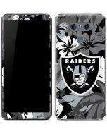 Oakland Raiders Tropical Print LG G6 Skin
