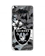 Oakland Raiders Tropical Print LG V40 ThinQ Skin
