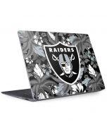 Oakland Raiders Tropical Print Surface Laptop 2 Skin