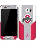 Ohio State Breast Cancer Galaxy S6 Skin