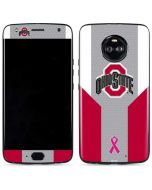 Ohio State Breast Cancer Moto X4 Skin
