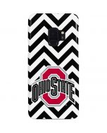 Ohio State Chevron Print Galaxy S9 Lite Case