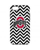 Ohio State Chevron Print iPhone 7 Pro Case