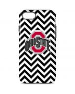 Ohio State Chevron Print iPhone 8 Pro Case