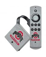 Ohio State Distressed Logo Amazon Fire TV Skin