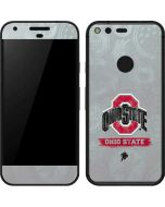 Ohio State Distressed Logo Google Pixel Skin