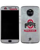 Ohio State Distressed Logo Moto X4 Skin