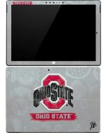 Ohio State Distressed Logo Surface Pro 4 Skin
