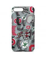Ohio State Pattern iPhone 7 Plus Pro Case