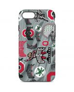 Ohio State Pattern iPhone 8 Pro Case