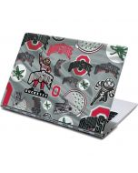 Ohio State Pattern Yoga 910 2-in-1 14in Touch-Screen Skin