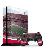 Ohio State Stadium PS4 Console and Controller Bundle Skin