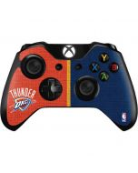 OKC Thunder Split Xbox One Controller Skin