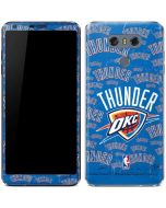 Oklahoma City Thunder Blast LG G6 Skin