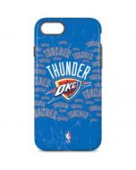 Oklahoma City Thunder Blast iPhone 8 Pro Case